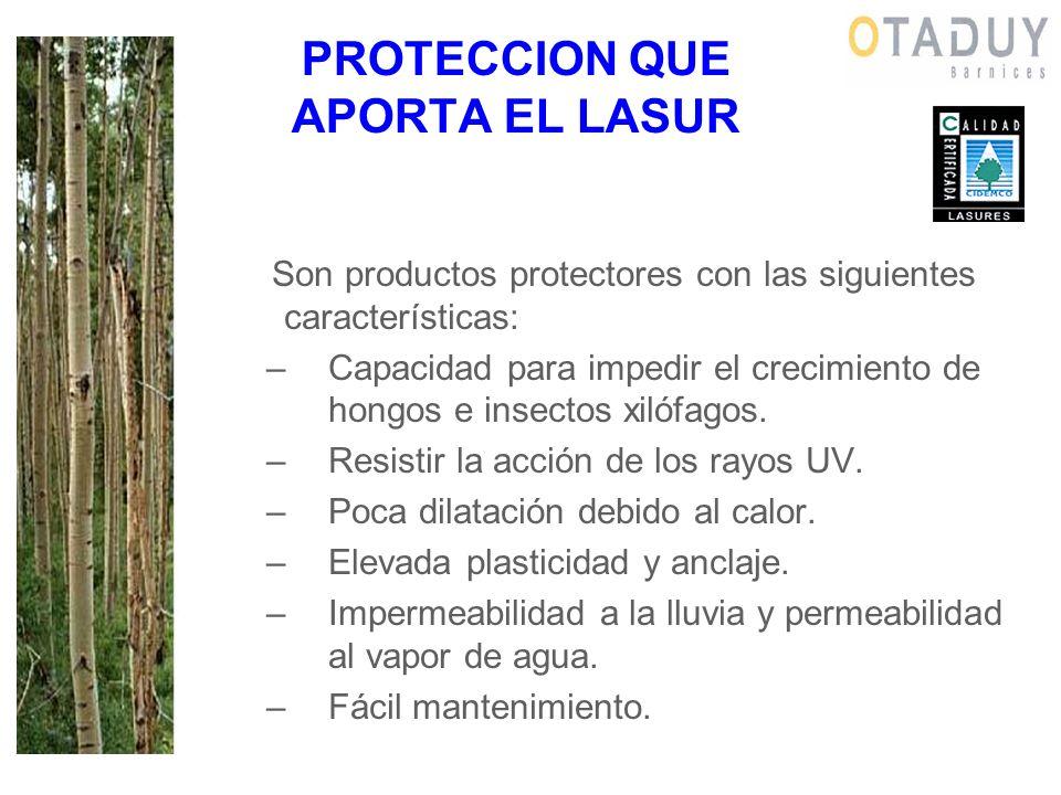 PROTECCION QUE APORTA EL LASUR