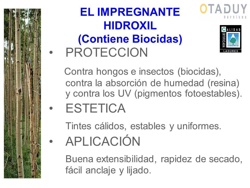 EL IMPREGNANTE HIDROXIL (Contiene Biocidas)