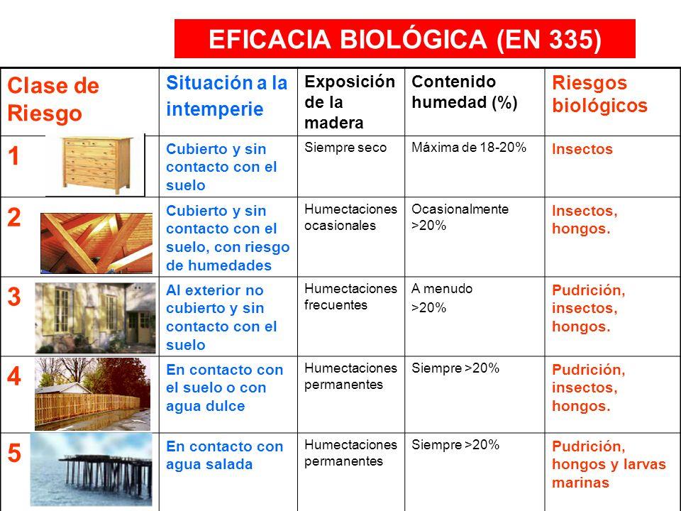 EFICACIA BIOLÓGICA (EN 335)