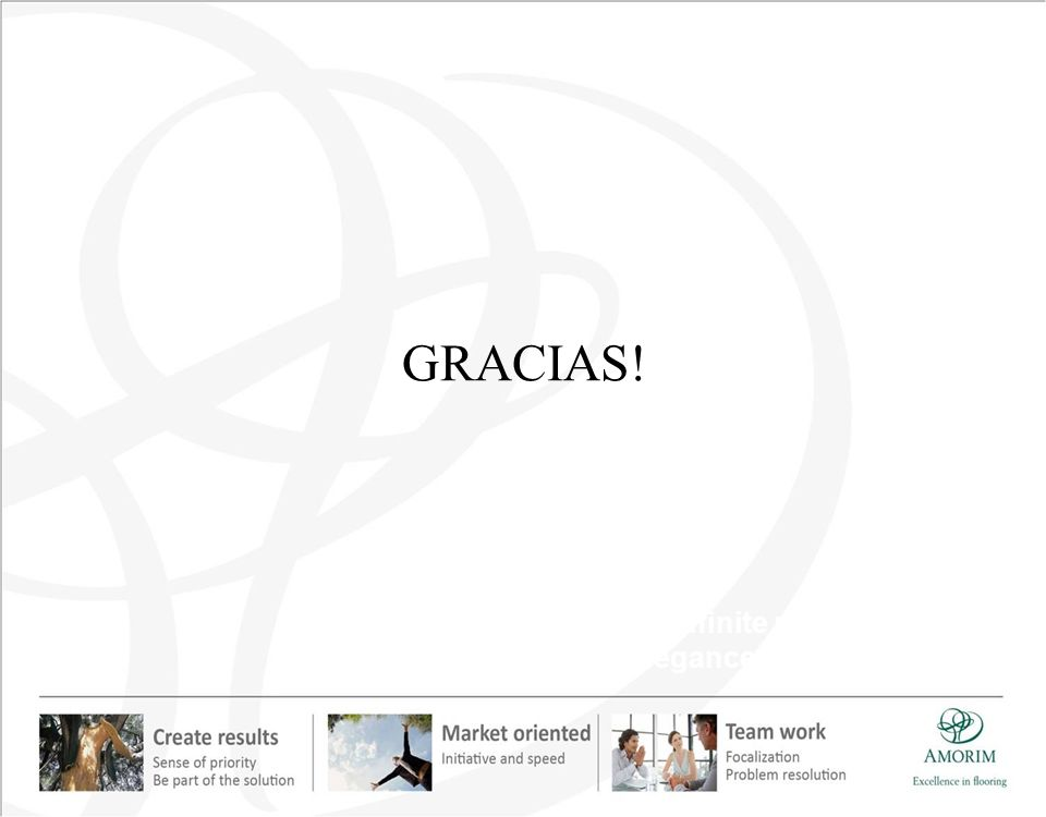 GRACIAS! … with an infinite range of textures, colors, elegance and sophistication.