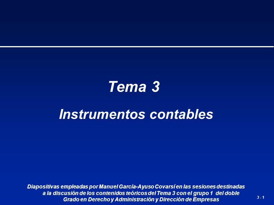 Instrumentos contables