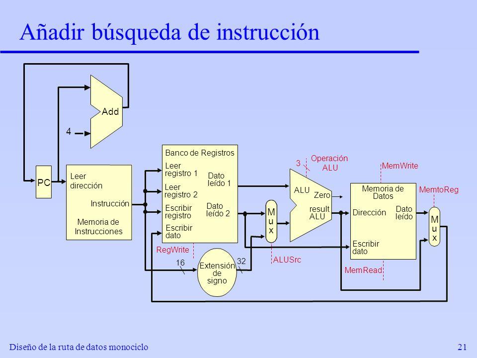 Añadir búsqueda de instrucción