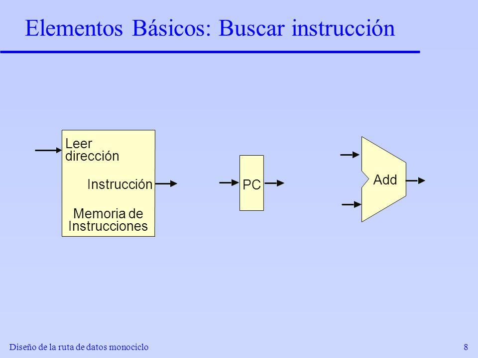 Elementos Básicos: Buscar instrucción