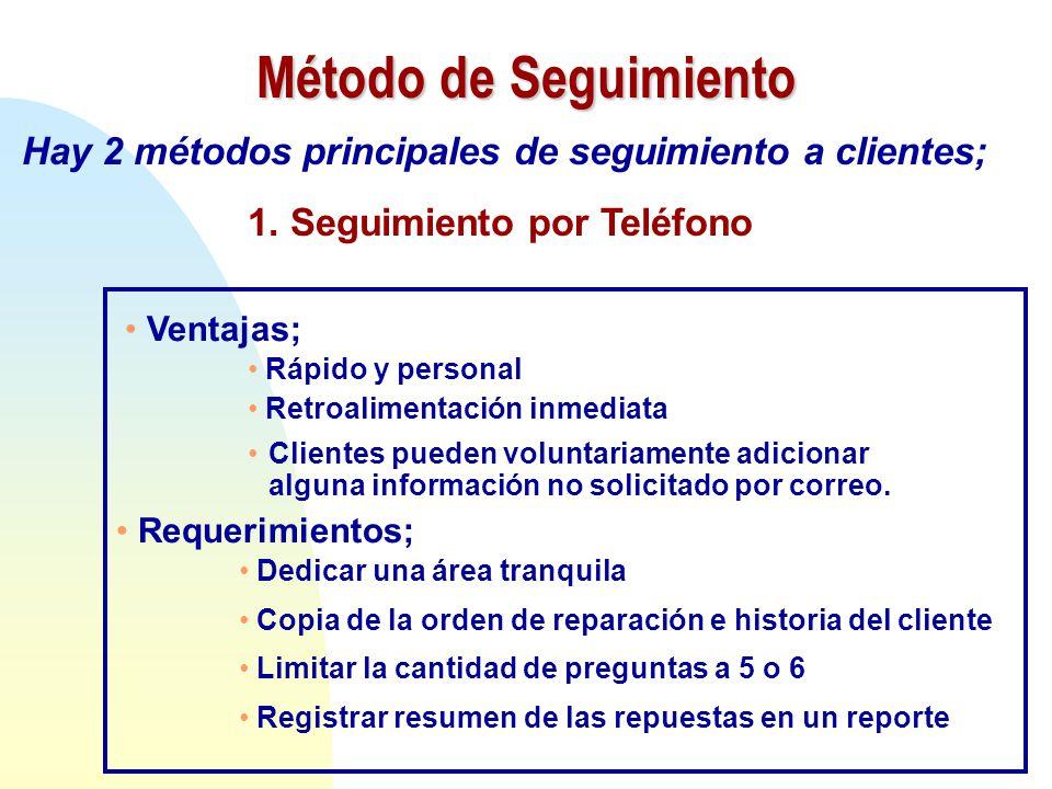 7 pasos procedimiento de servicio 7 step service for Telefono informacion ministerio interior