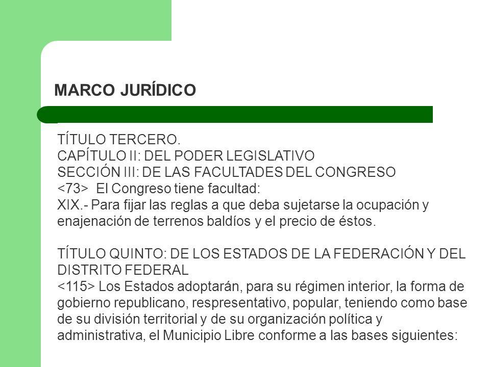 MARCO JURÍDICO CONSTITUCIÓN POLÍTICA DE LOS ESTADOS UNIDOS MEXICANOS ...