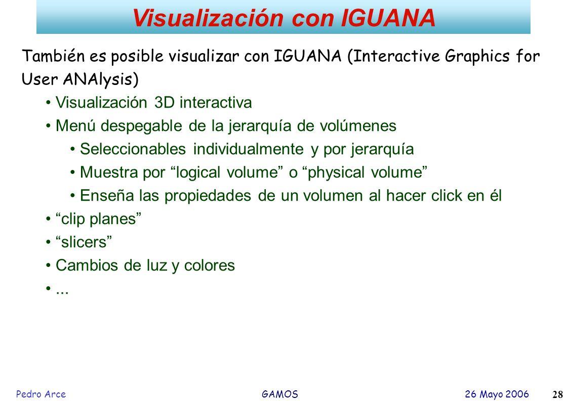 Visualización con IGUANA