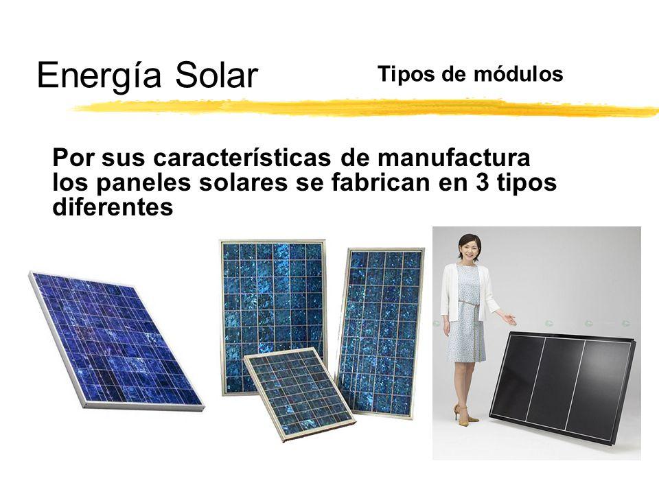 Energ a solar ppt video online descargar - Tipos de paneles solares ...