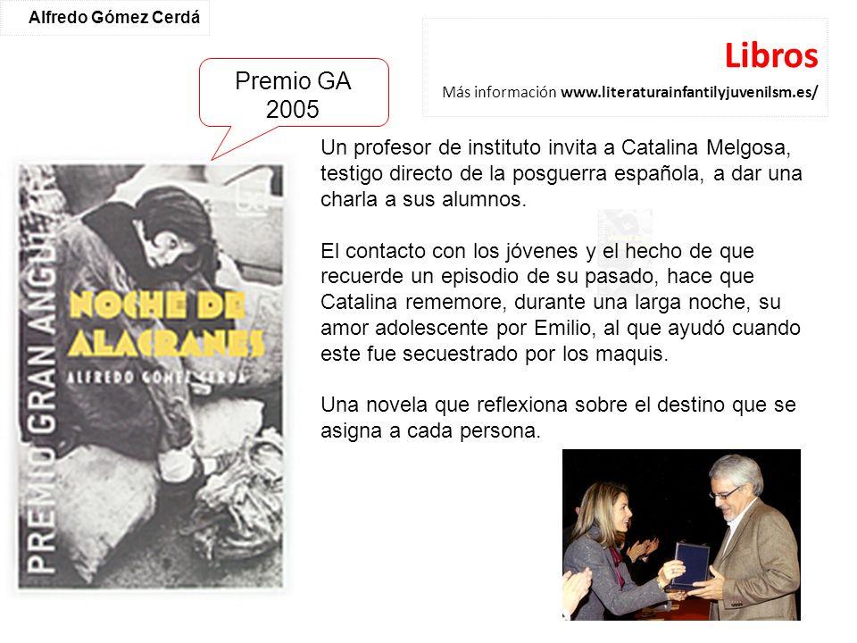 Libros Más información www.literaturainfantilyjuvenilsm.es/
