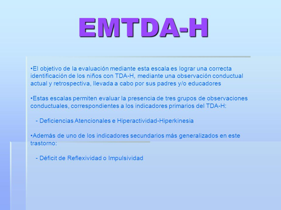 EMTDA-H