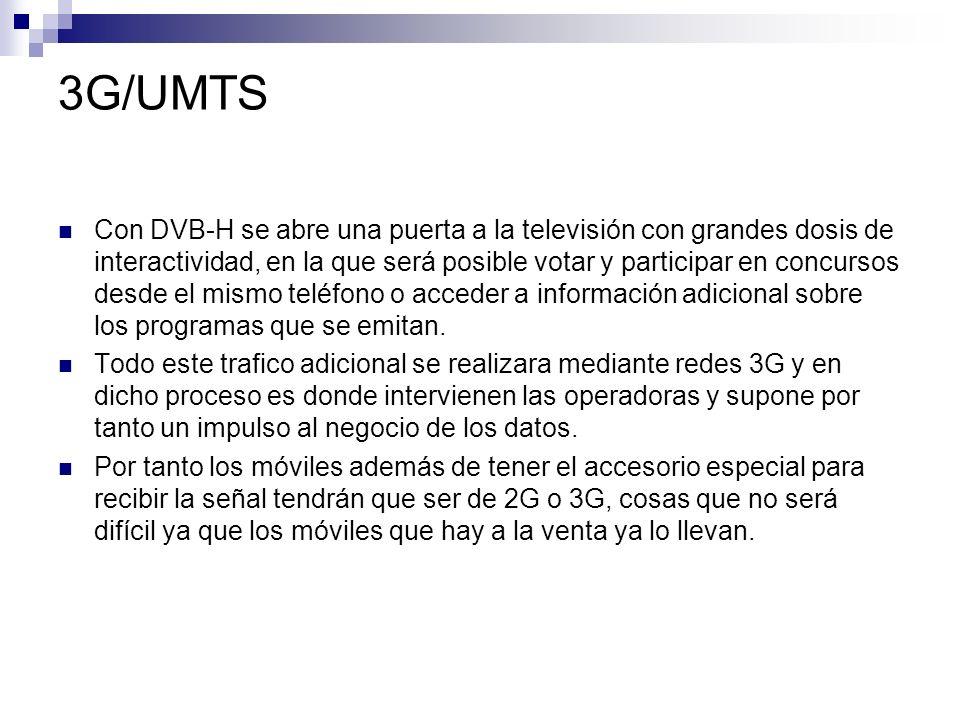 3G/UMTS