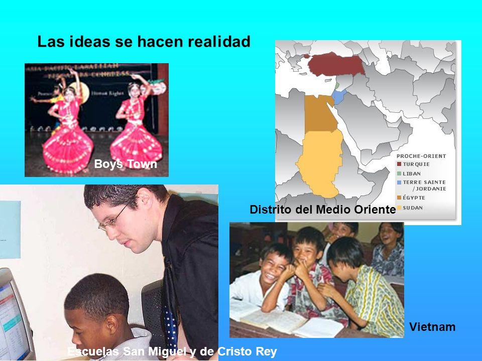 Las ideas se hacen realidad