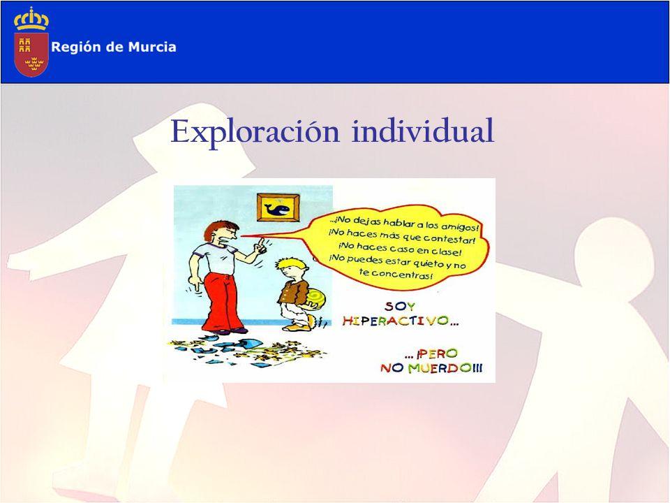 Exploración individual