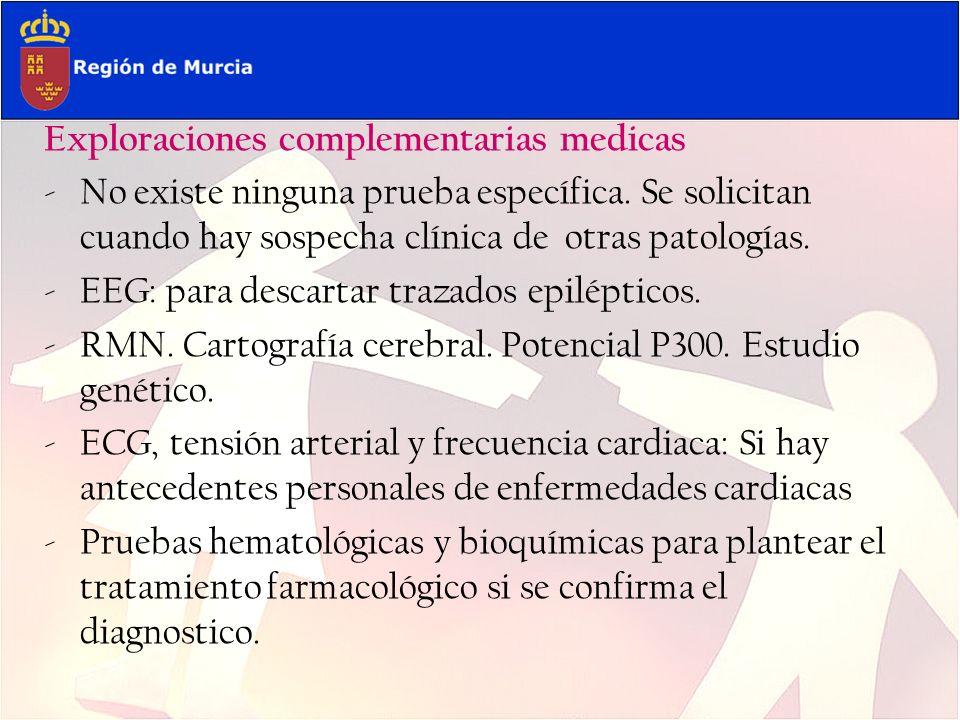 Exploraciones complementarias medicas