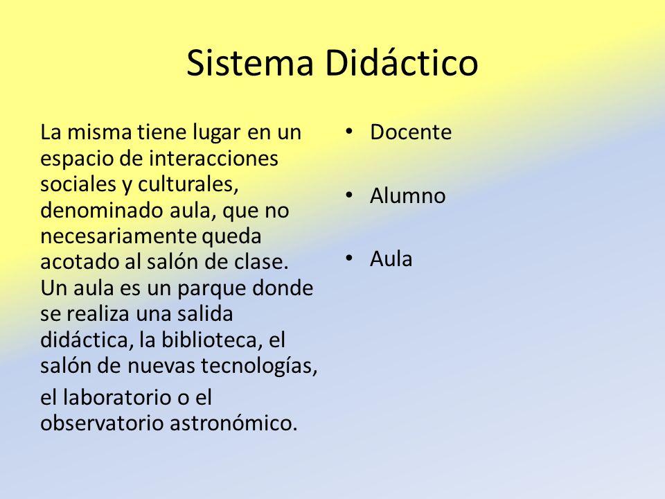 Sistema Didáctico