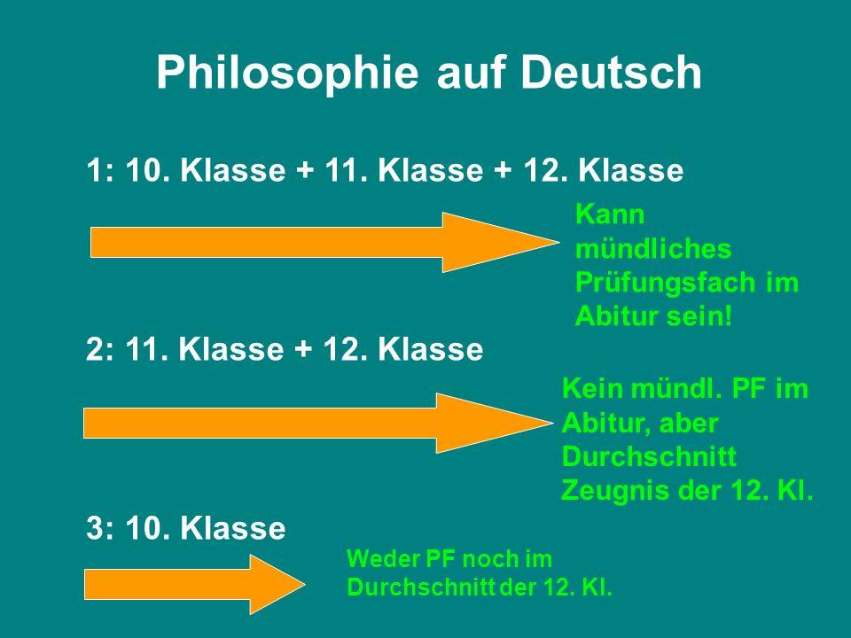 Philosophie auf Deutsch