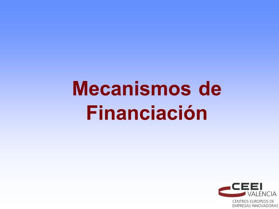 Mecanismos de Financiación