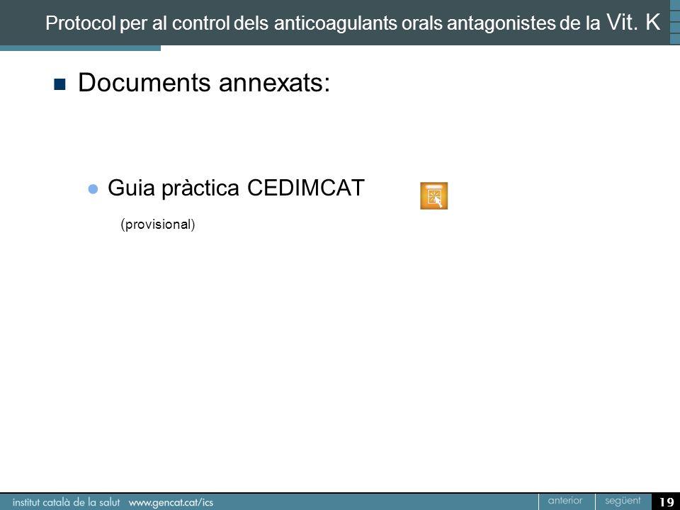 Documents annexats: Guia pràctica CEDIMCAT (provisional)