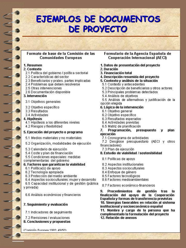 EJEMPLOS DE DOCUMENTOS