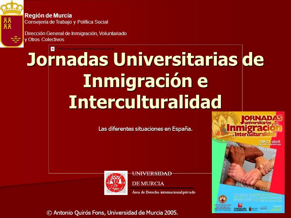 Jornadas Universitarias de Inmigración e Interculturalidad