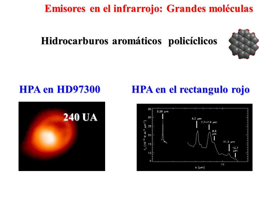 Hidrocarburos aromáticos policíclicos HPA en el rectangulo rojo
