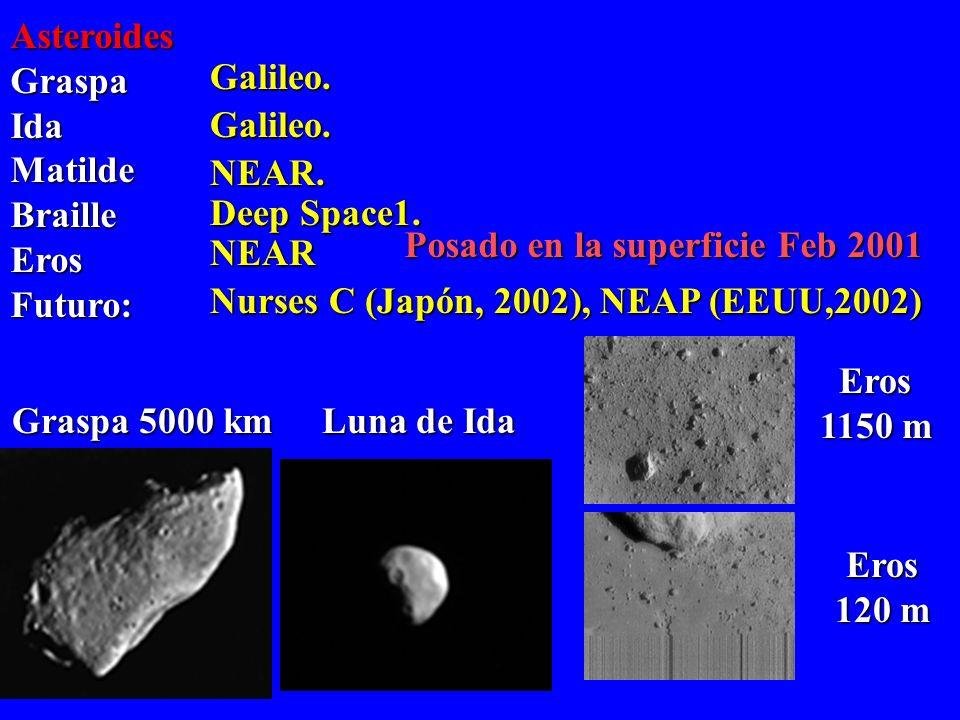 Posado en la superficie Feb 2001