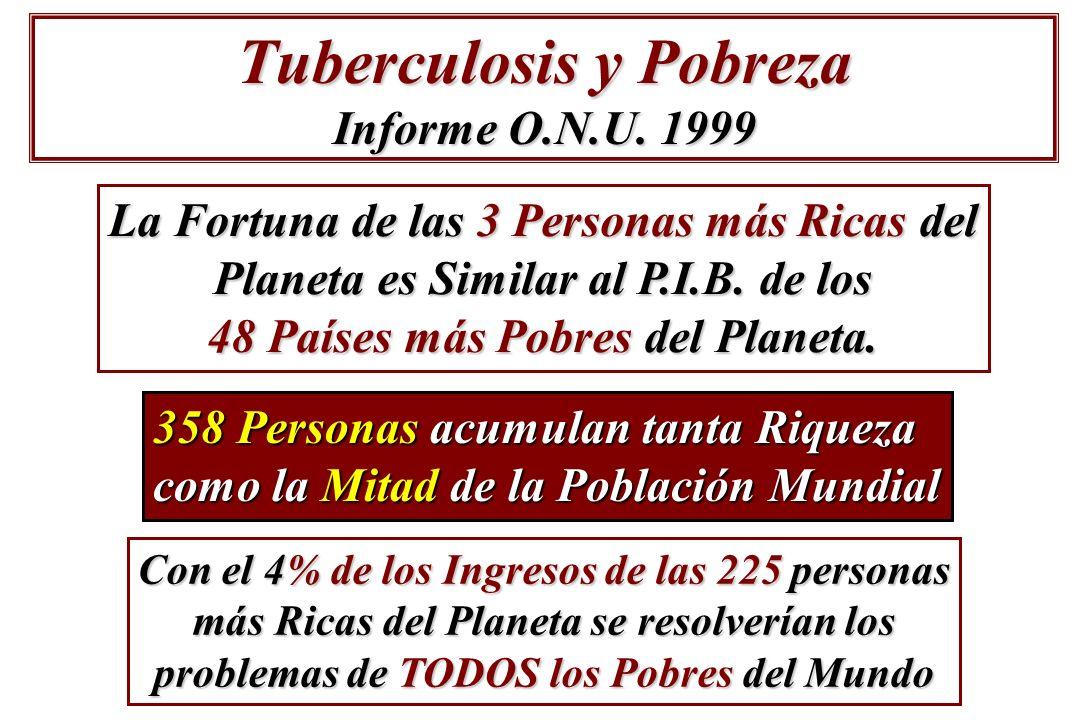Tuberculosis y Pobreza Informe O.N.U. 1999