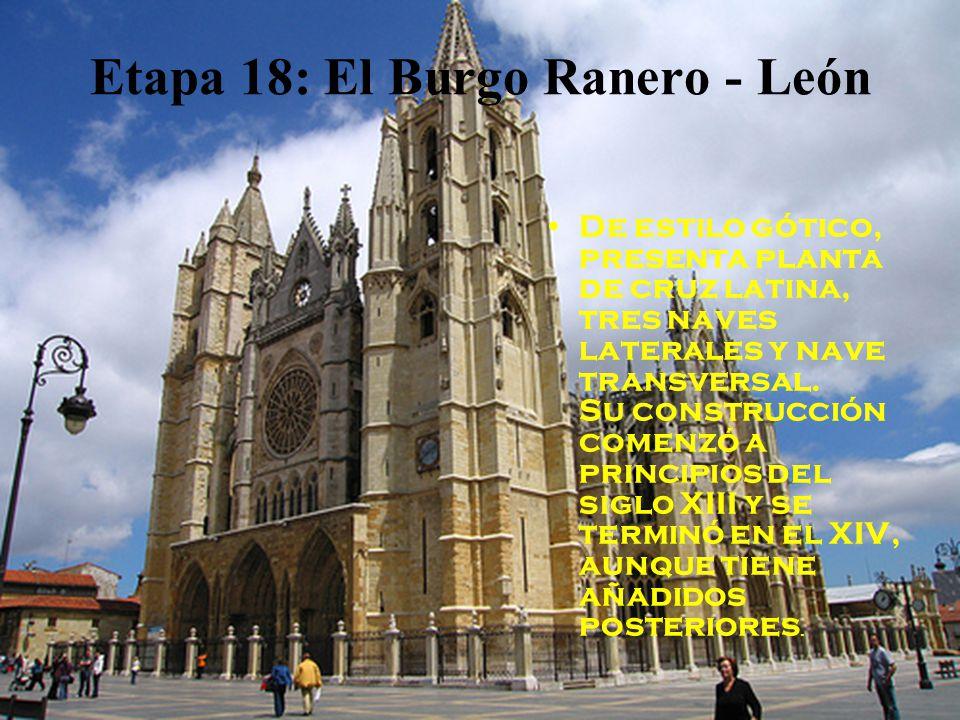 Etapa 18: El Burgo Ranero - León