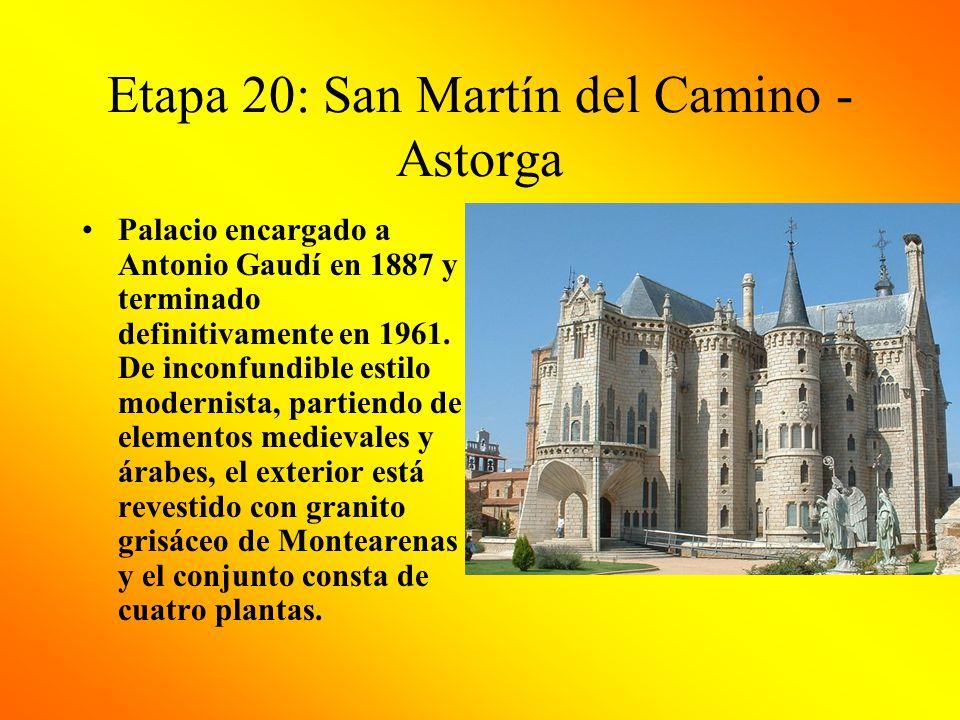 Etapa 20: San Martín del Camino - Astorga