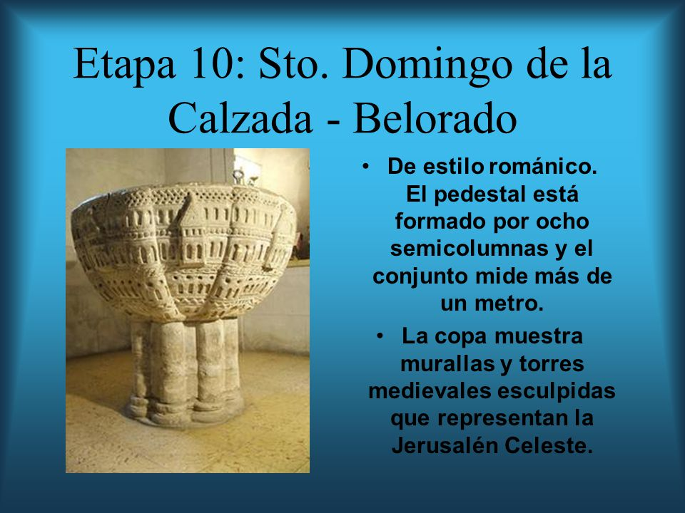 Etapa 10: Sto. Domingo de la Calzada - Belorado