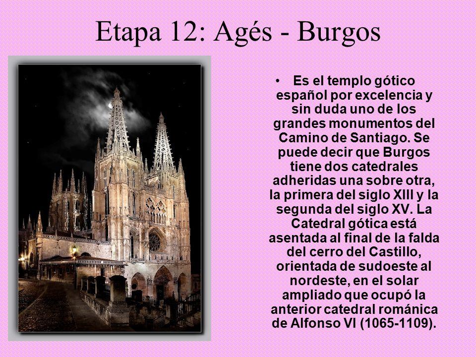 Etapa 12: Agés - Burgos
