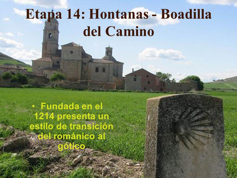 Etapa 14: Hontanas - Boadilla del Camino