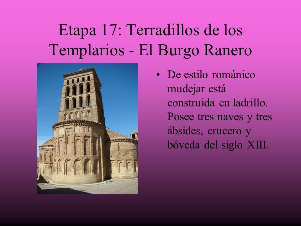 Etapa 17: Terradillos de los Templarios - El Burgo Ranero