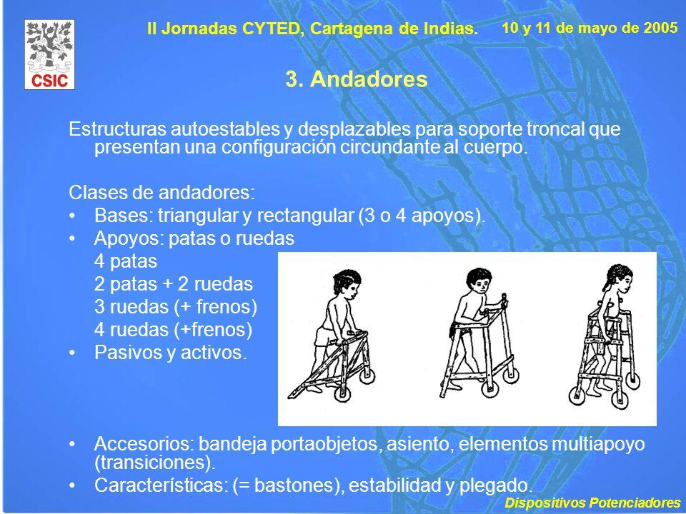 II Jornadas CYTED, Cartagena de Indias.