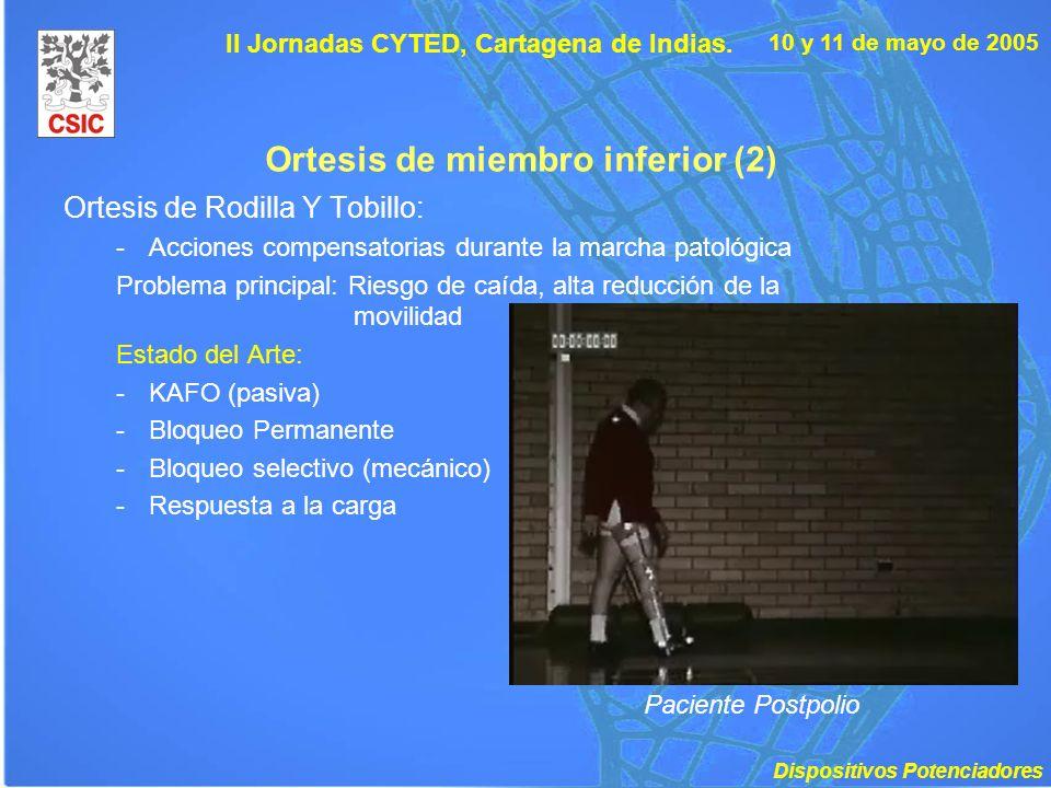 Ortesis de miembro inferior (2)
