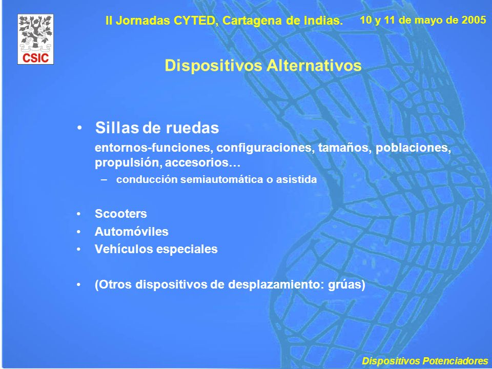 Dispositivos Alternativos