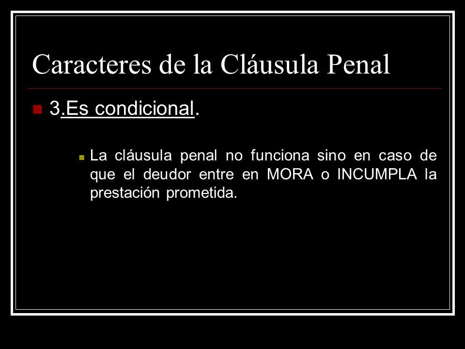 Ejecuci n directa de la obligaci n in specie o in natura for Que es una clausula