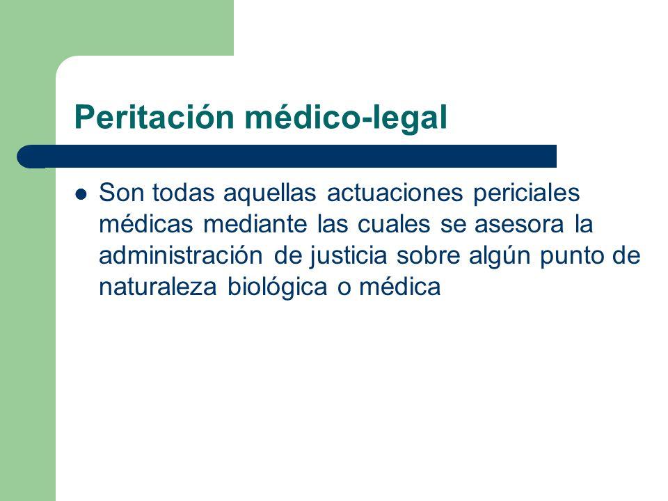 Peritación médico-legal