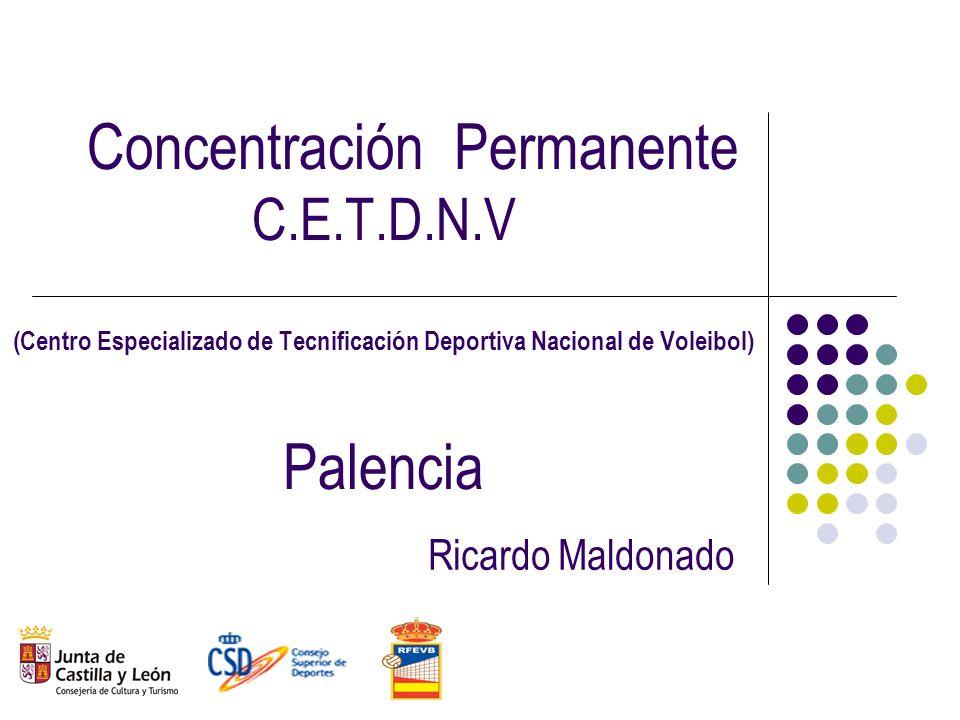 Concentración Permanente C. E. T. D. N