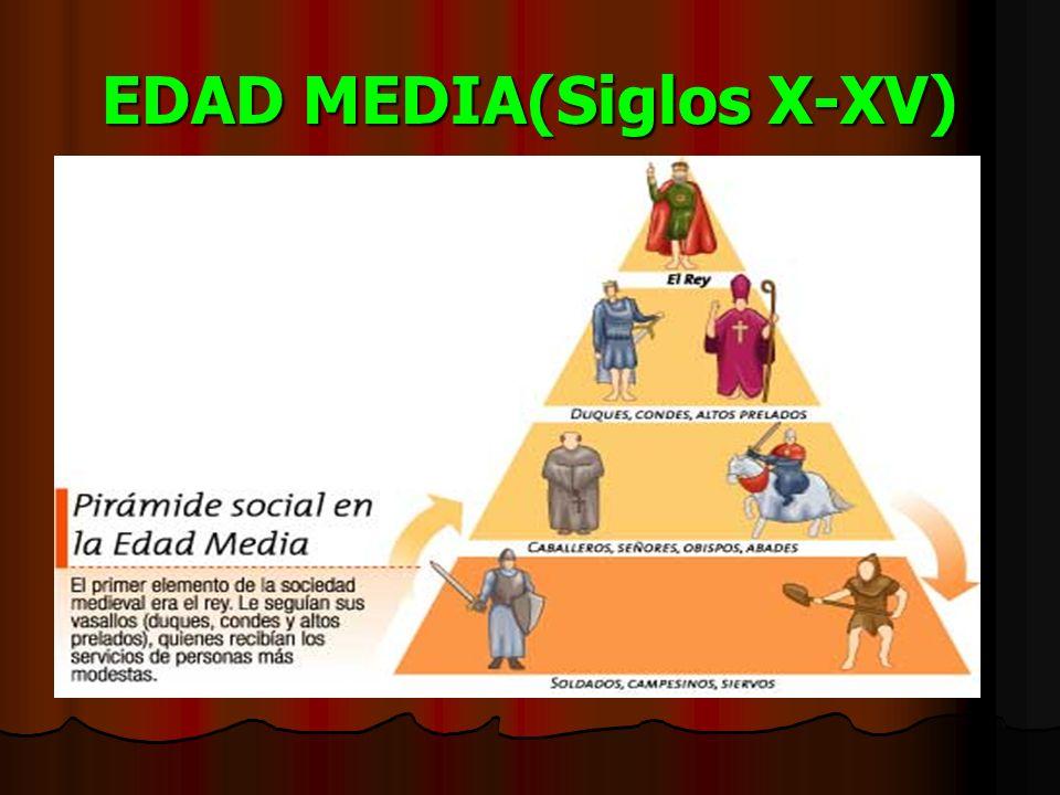 EDAD MEDIA(Siglos X-XV)