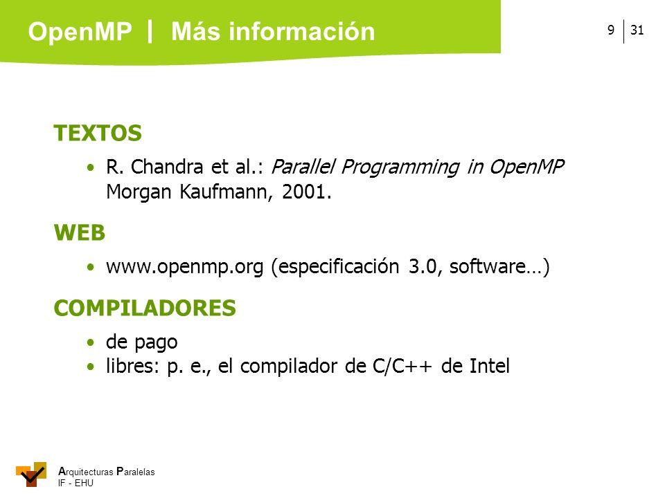 Más información TEXTOS WEB COMPILADORES