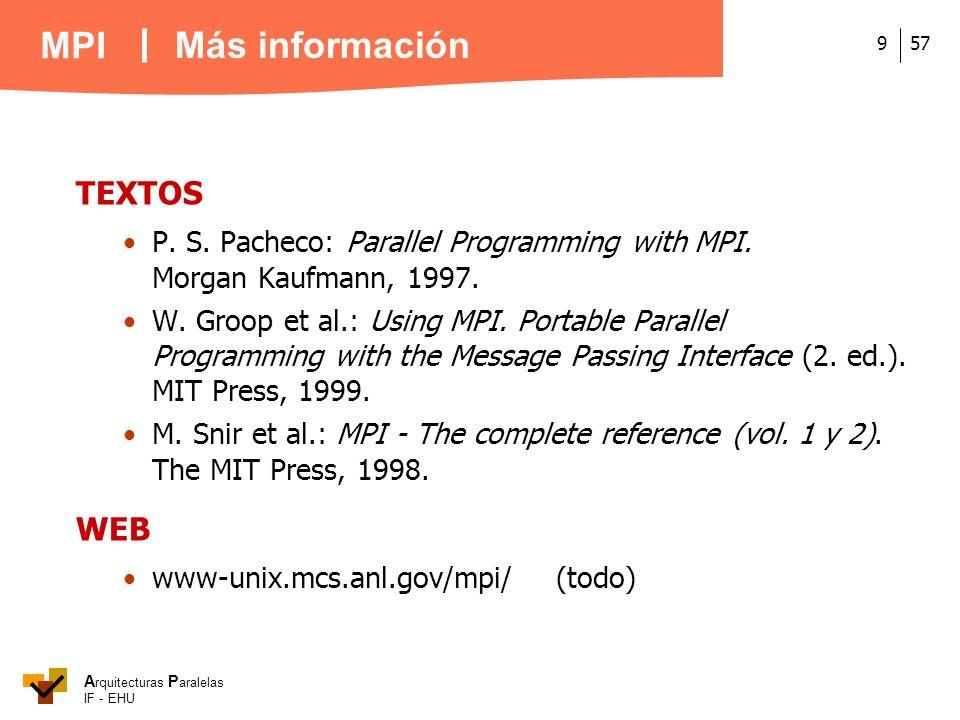Más información TEXTOS WEB
