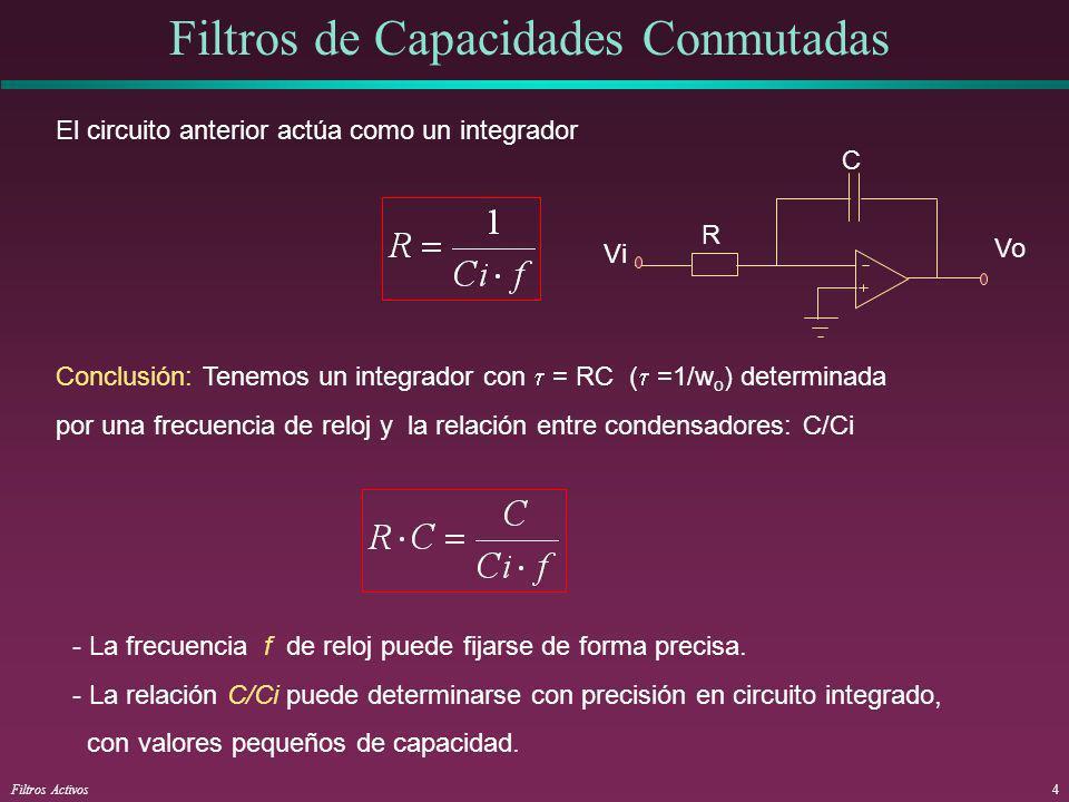 Filtros de Capacidades Conmutadas
