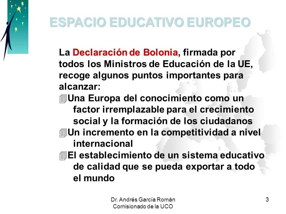 ESPACIO EDUCATIVO EUROPEO