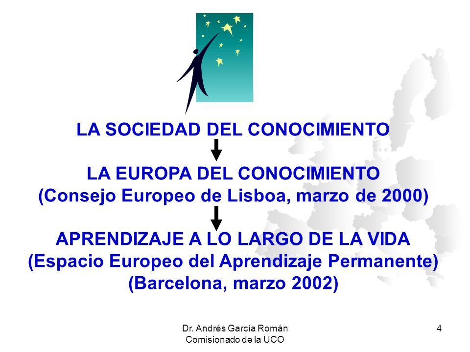 LA SOCIEDAD DEL CONOCIMIENTO LA EUROPA DEL CONOCIMIENTO