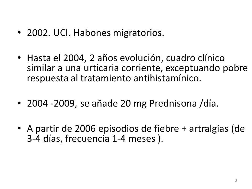 2002. UCI. Habones migratorios.