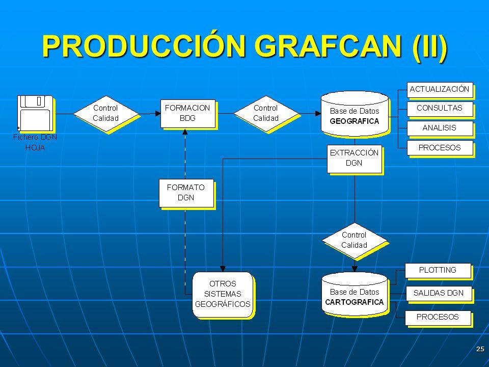 PRODUCCIÓN GRAFCAN (II)