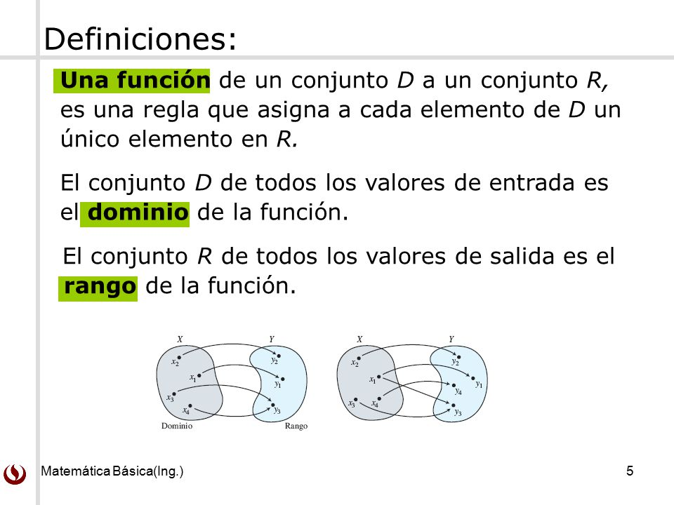Funciones definici n y notaci n de funciones dominio y for Funcion de salida
