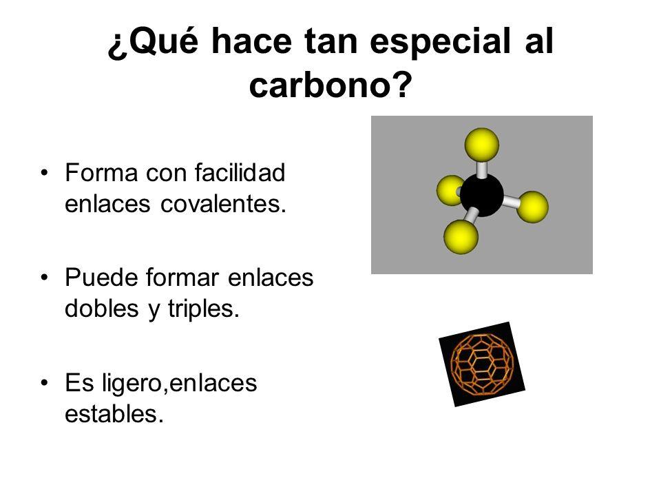 ¿Qué hace tan especial al carbono