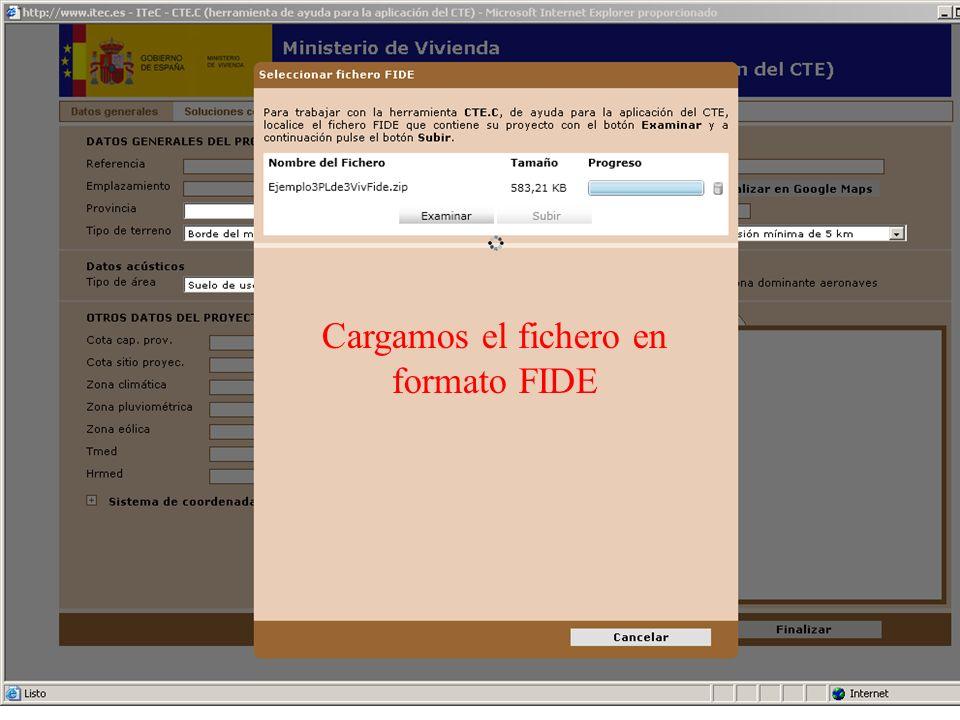 Cargamos el fichero en formato FIDE