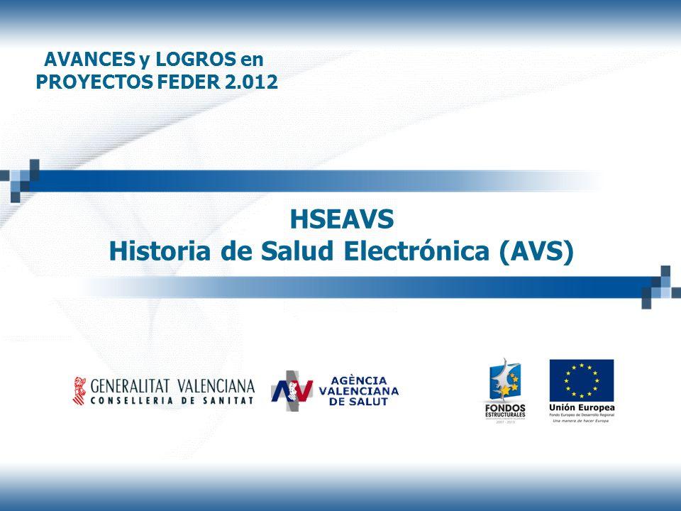 HSEAVS Historia de Salud Electrónica (AVS)